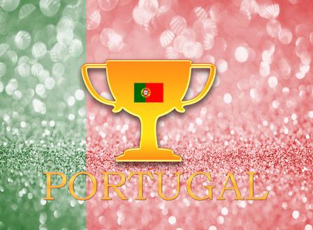 portugal flag: Portugal flag for football