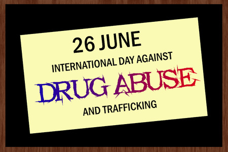 substance abuse awareness: International day against drug abuse