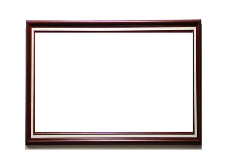 copy space: wooden frame with copy space