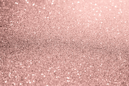 rose gold glitter bokeh texture background