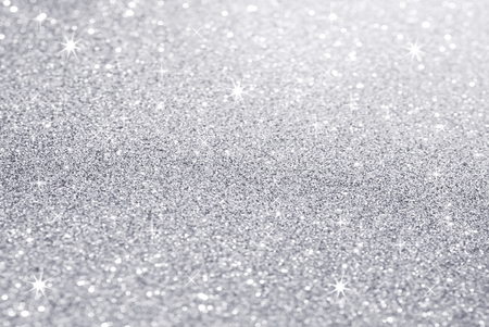 white silver glitter texture christmas abstract background