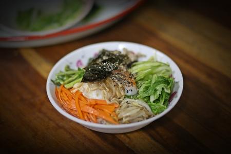 korean food: home made of bibimbup, Korean food