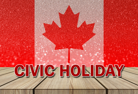 long weekend: civic holiday long weekend Stock Photo