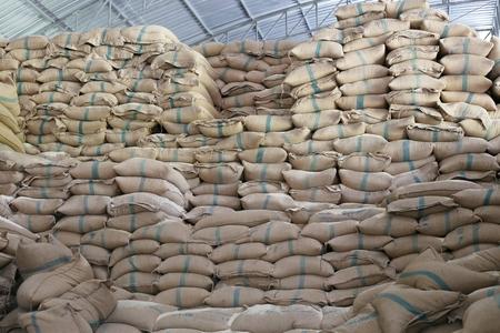 gunny bag: Gunny-bag rice package