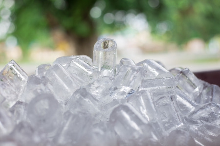 refrigerate: ice cube