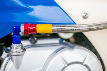 hand brake: Parts of Motorcycle, taillight, wheel, oil line