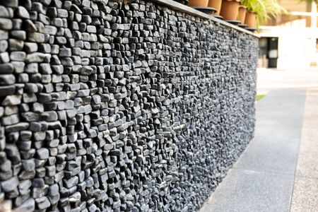 Old stone wall or floor texture background.