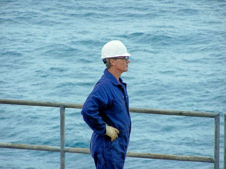 Offshore worker