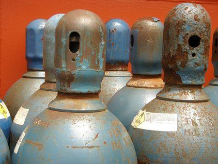 zylinder: Sauerstoff-Zylinder