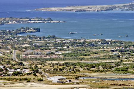 GUANTANAMO BAY, CUBA, JANUARY 10, 2006  The military base of the United States in Guantanamo Bay, Cuba, on January 10th, 2006  Editorial