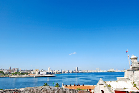 A panorama of Havana, Cuba, Photographed from the Fort of Saint Charles  photo