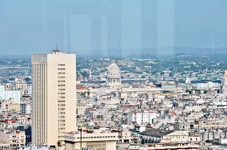 A panorama of Havana, Cuba photo
