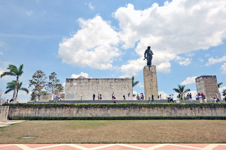 SANTA CLARA, CUBA, MAY 8, 2009  Che Guevara�s monument and mausoleum in Santa Clara, Cuba, on May 8th, 2009