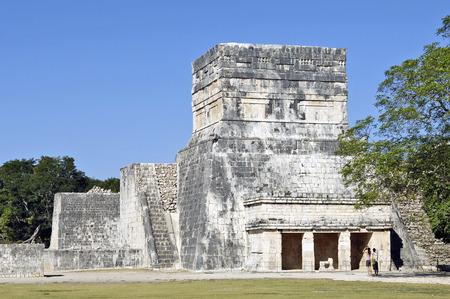 Chichen Itza, Yucatan, Mexico, 2007  Ancient buildings built by the Mayas