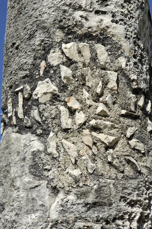 Chichen Itza, Yucatan, Mexico, 2007  Ancient statue photo