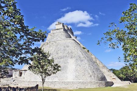 Uxmal, Yucatan, Mexico, 2007  Archeological ruins, built by the Mayas
