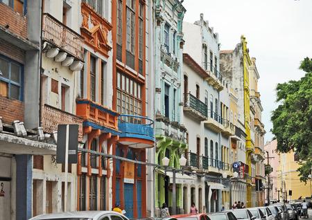 Olinda, Recife, Pernambuco, Brazil, 2009 Beautiful colourful houses in Olinda
