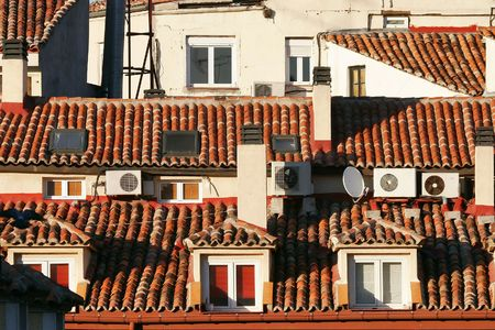 roofs of spain photo