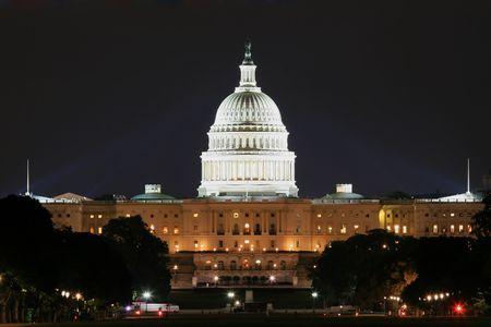 congressional: Washington Capitol Stock Photo