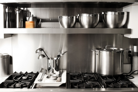 quite: quite new kitchen stuff in silver black colors