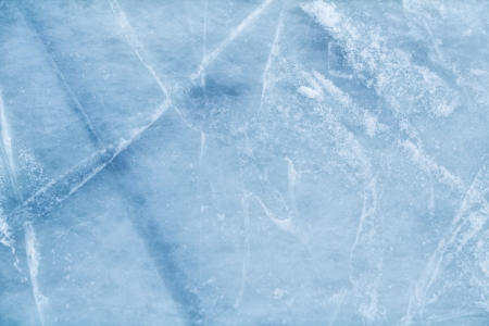 ice surface: A background of ice surface cut with skate scratches