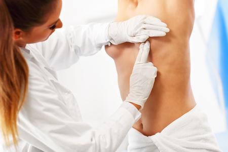 Doctor examining