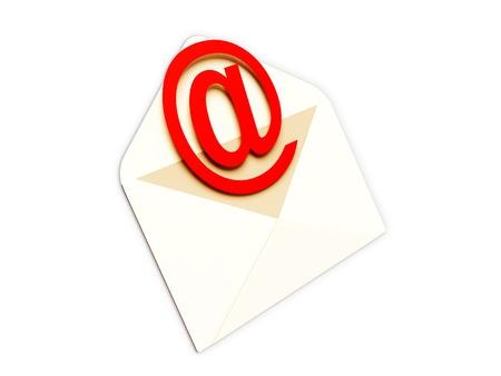 picto: Concept courrier electronique