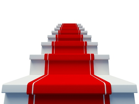 luxury entrance with red carpet photo