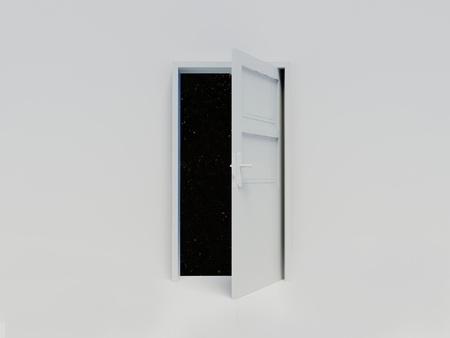 Door to sky photo