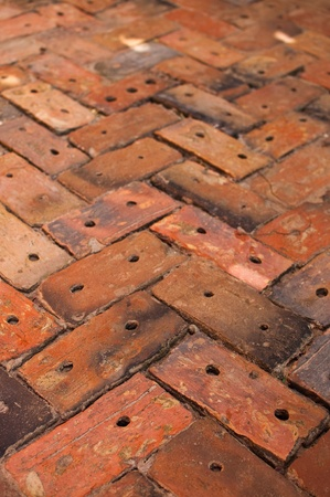 Brick Sidewalk Pattern  Stock Photo - 8330442