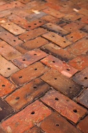 Brick Sidewalk Pattern Stock Photo - 8330442