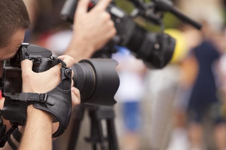 filming: photographer