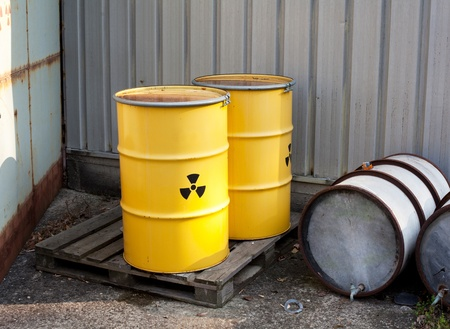 radioactive waste photo