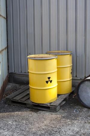 radioactive waste Stock Photo - 11258202