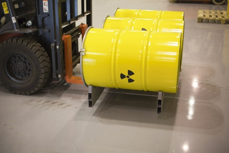 radioactive waste Stock Photo - 11258266