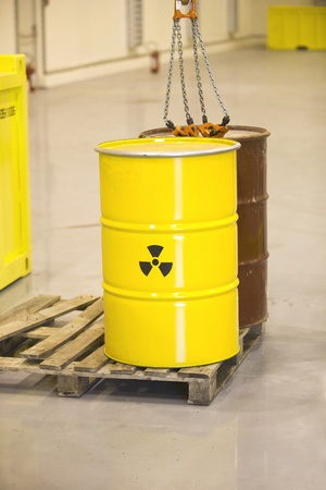 radioactive waste Stock Photo - 11258304