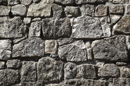 stone work: old stone wall