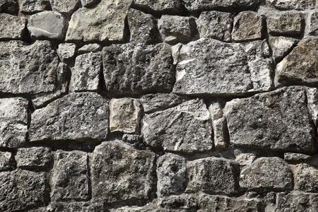 stoneworks: old stone wall