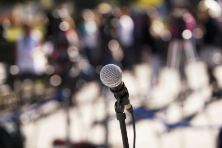 mikrofon Stock fotó