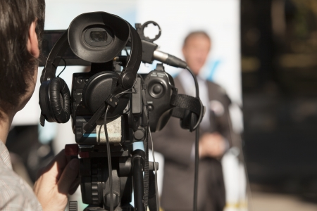 videókamera Stock fotó
