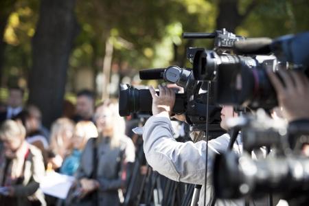 operatőre, amely egy esemény egy kamerával