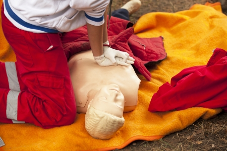 cpr: first aid training
