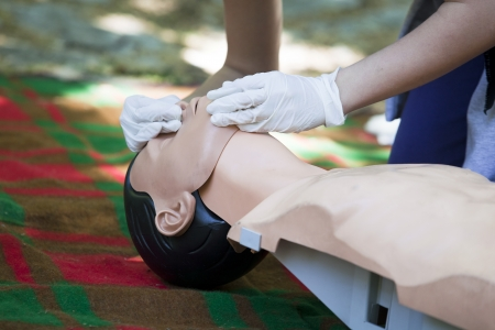 CPR Stock Photo