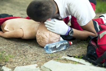 first help: first aid