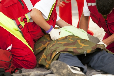 first help: first aid training
