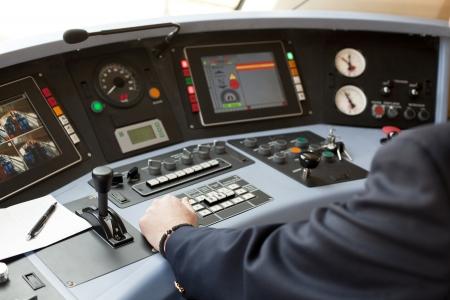 control panel: railroad engineer