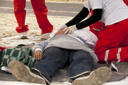 accident body: first aid training