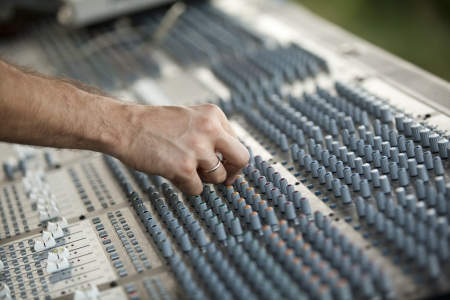 audio mixer photo
