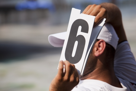 number six Stock Photo - 18601739