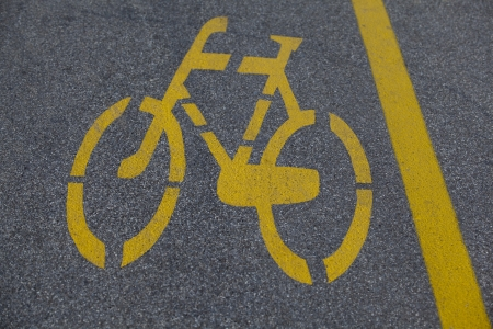 bicycle path  photo